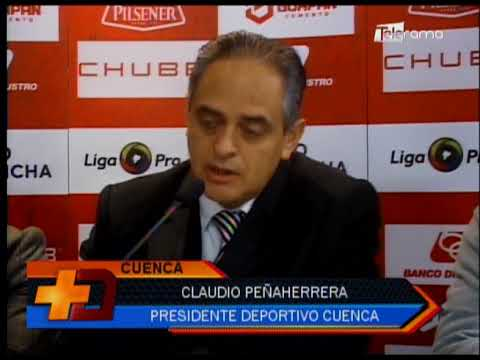 Presidente Deportivo Cuenca expone situación económica del club