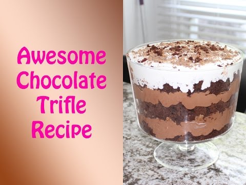 Delicious, Rich, Chocolate Trifle Recipe