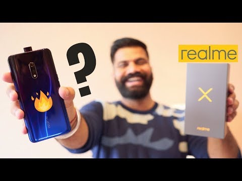 Realme X Unboxing & Hands On First Look - True Game Changer??? 🔥🔥🔥