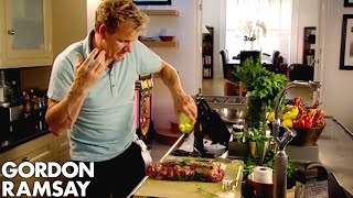 Leg of Lamb with Goats Cheese and Mint | Gordon Ramsay by Gordon Ramsay