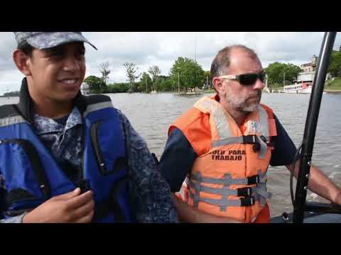 154 personas permanecen fuera de sus hogares por la creciente del río Uruguay.