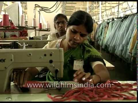 Garment factory and fashion textile manufacturing - Make in India