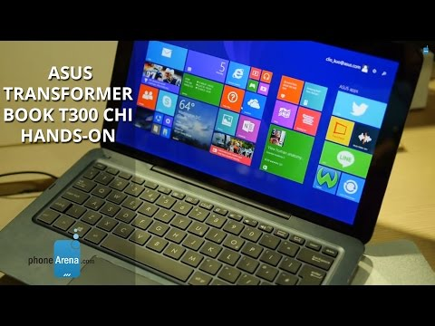Asus Transformer Book T300 Chi hands-on