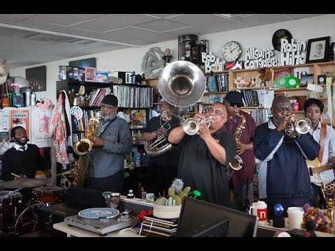 Dirty Dozen Brass Band – NPR Music Tiny Desk Concert