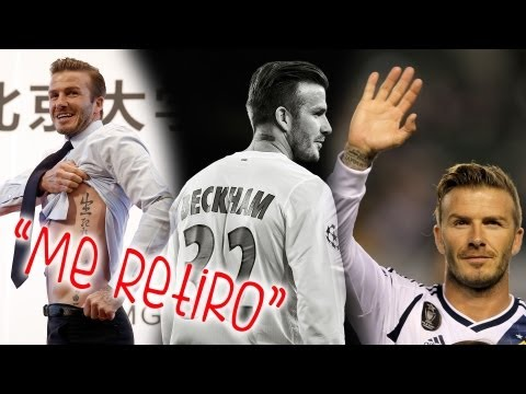 David Beckham Se Retira del Futbol!