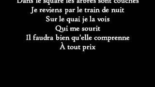 Paroles de la musique Les Mots bleus de Christophe.Consultez ce site Web : http://www.antimuonium.com.