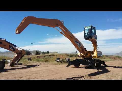 CATERPILLAR WHEEL EXCAVATORS M322C equipment video HXtQ5k2lSs8