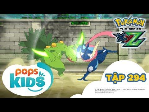 Pokémon Tập 294 - Gekkoga đấu Lizardon Mega - Hoạt Hình Pokémon Tiếng Việt S19 XYZ - Thời lượng: 21:30.