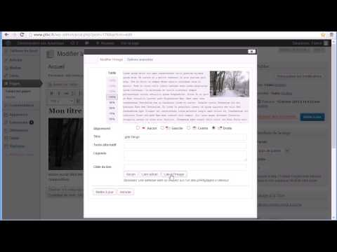 comment modifier home wordpress