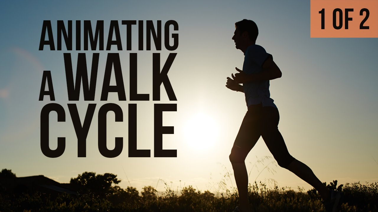 animating 3d walk cycle tutorial