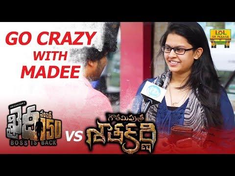 Khaidi No 150 Vs Gautamiputra Satakarni || Go Crazy With Madee