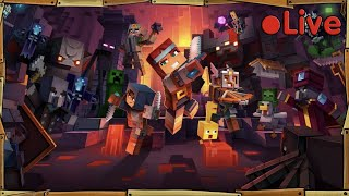 Minecraft Dungeons Beta - W/iBallistic Squid - • Live
