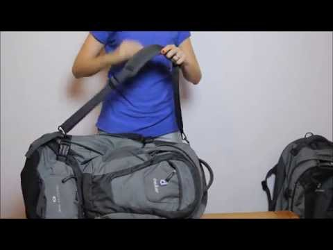Vídeo - Mochila Deuter Traveller 60+10 SL