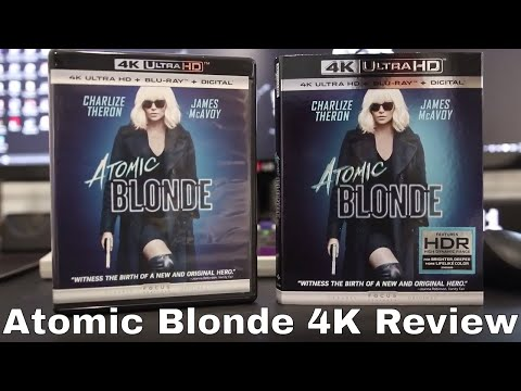 Atomic Blonde 4K Blu-Ray Review