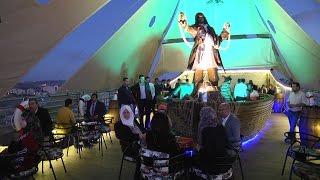 افتتاح مطعم السفينة أكبر مطعم في فلسطين