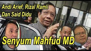 Video Mahfud MD Tanggapi Andi Arief, Rizal Ramli Dan Said Didu MP3, 3GP, MP4, WEBM, AVI, FLV April 2019