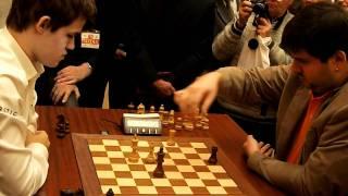 Magnus Carlsen -- Peter Svidler Wch chess blitz