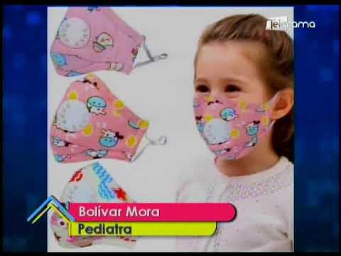 Uso de mascarillas en niños