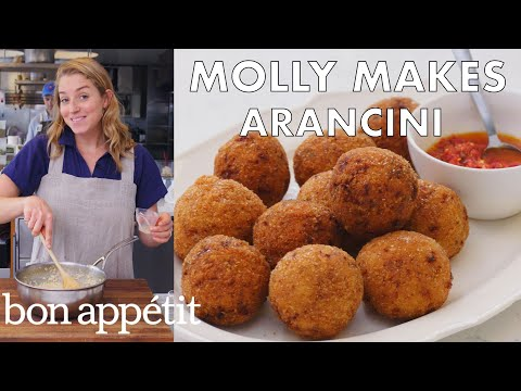 Download Molly Makes Arancini | From the Test Kitchen | Bon Appétit HD Mp4 3GP Video and MP3