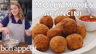 Molly Makes Arancini | From the Test Kitchen | Bon Appétit