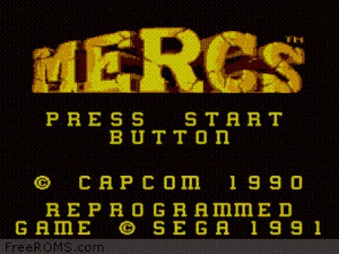 Mercs Master System