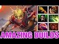 DESTROYER HIT - Bounty Hunter HARD CARRY - Amazing Builds - Dota 2