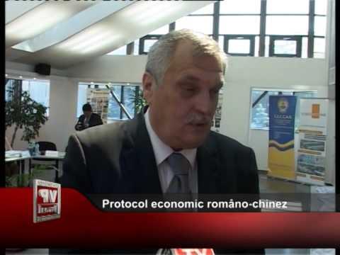 Protocol economic româno-chinez