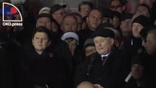 13 grudnia – Kaczyński – unikalne nagranie oko.press