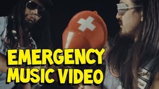 Thumbnail for Steve Aoki ft. Chiddy Bang — Emergency