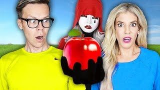 Video We Only Ate RED FOODS for 24 hours! (impossible Food Challenge with Hacker) Matt and Rebecca Zamolo MP3, 3GP, MP4, WEBM, AVI, FLV Juni 2019