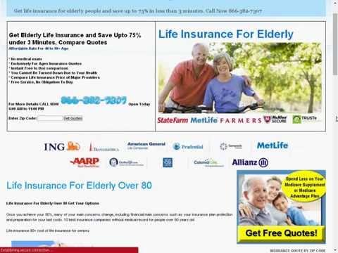 Life insurance for 81 year old male