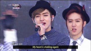 Video Music Bank K-Chart - C-CLOWN - Shaking Heart (2013.05.25) [Music Bank w/ Eng Lyrics] MP3, 3GP, MP4, WEBM, AVI, FLV Desember 2017