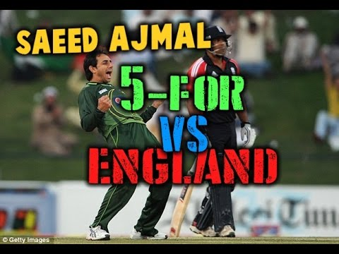 *720p HD* | SAEED AJMAL 5 FOR 43 |VS| ENGLAND 2012 (видео)