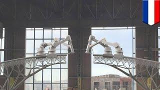 世界初!3Dプリンターで橋、オランダ企業開発