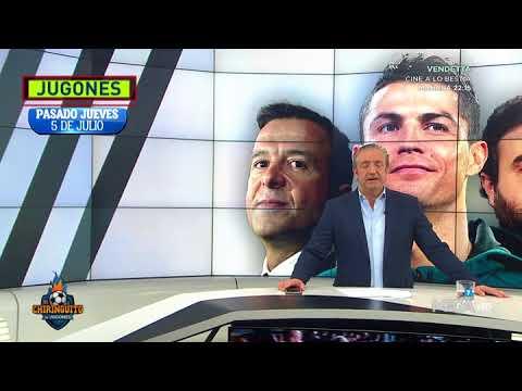 Así contó Pedrerol que Cristiano Ronaldo se iba a la Juventus por 100 millones