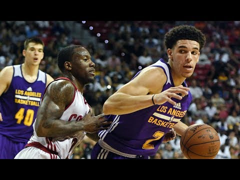 Highlights: Los Angeles Lakers vs. Cleveland Cavaliers, Summer League | Lonzo Ball Triple-Double - Thời lượng: 9:33.