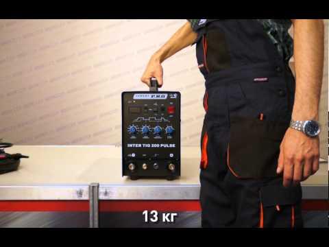 AuroraPRO INTER TIG 200 PULSE — демонстрация возможностей аппарата аргонно-дуговой сварки