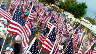 Ridgecrest (CA) United States  city photo : 1000 Flags Ridgecrest California 9/10/2011