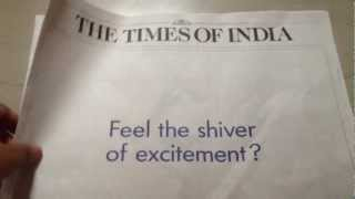 Volkswagen vibrator ad in Times of India | TechPP