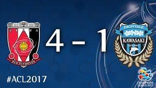 Video Urawa Red Diamonds vs Kawasaki Frontale (AFC Champions League 2017: Quarter Final - 2nd Leg) MP3, 3GP, MP4, WEBM, AVI, FLV Juni 2018
