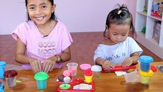 Video Unboxing Mainan Anak Play Doh Ice Cream - Membuat es krim dari Play doh - Learn colors MP3, 3GP, MP4, WEBM, AVI, FLV Mei 2019