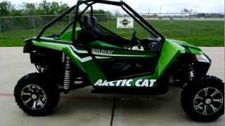 9. 2012 Arctic Cat Wildcat Arctic Green Metallic 1000 HO: Overview and Review