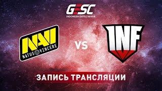 Natus Vincere vs Infamous, GESC Jakarta [Lex, 4ce]
