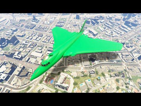 MASSIVE $3,950,000 STEALTH BOMBER PLANE! (GTA 5 DLC) (видео)