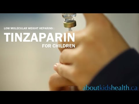 Tinzaparin - for Children
