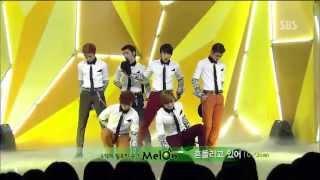 Video 씨클라운 (C-Clown) [흔들리고 있어] @SBS Inkigayo 인기가요 20130421 MP3, 3GP, MP4, WEBM, AVI, FLV Desember 2017