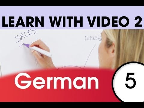 Learn German with Video – Top 20 German Verbs 3