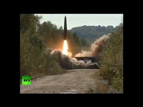 m. - During the Vostok 2014 military exercise that began in Russia on Friday; the Russian military successfully launched the iconic Iskander M rockets. This is a joint military exercise with the...