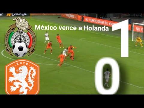 Resumen México vs. Holanda 1-0 goles, partido amistoso 2020