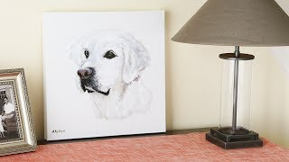 https://www.thegrommet.com/my-pooch-faceGive your dog or cat the star treatment with a custom pet portrait from My Pooch Face. They create works of art that celebrate a pet's place as a member of the family. It's a collaborative effort between you and the Georgia-based artists, who work from a photo. (Thankfully, pets don't have to sit still for these portraits.) The artists capture an animal's likeness and personality, either in a polished digital portrait or a more traditional hand-painted version. You can even choose a color theme ranging from a natural palette to brighter hues. A few Grommet family pets had their portraits done, and we were touched by how lifelike and lovely each print turned out. And we liked how engaged My Pooch Face was during the process—even including a sweet note from the artist. Their craftsmanship and care will create a portrait any pet parent will find both beautiful and meaningful.